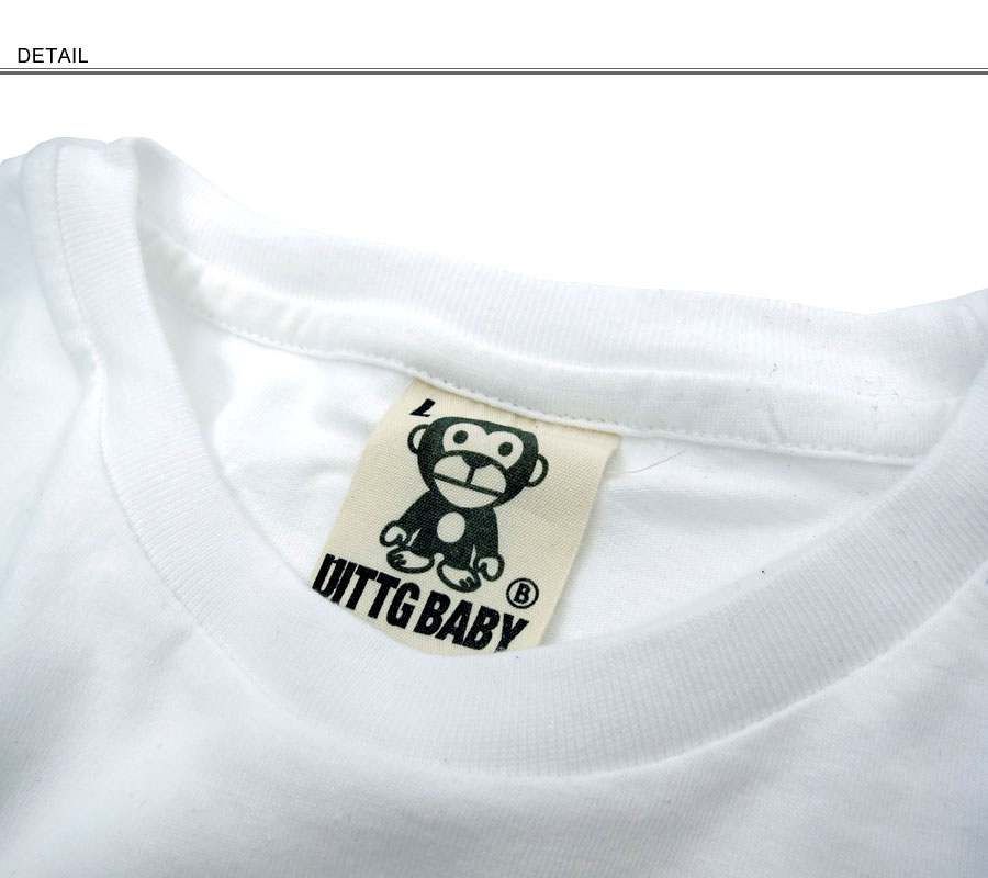 "UITTG 婴儿 / 假发宝贝 ~ 棉 ~ 所有 8柄! ""猴子 UB""可爱""猴子""PT 长短袖 t 恤"