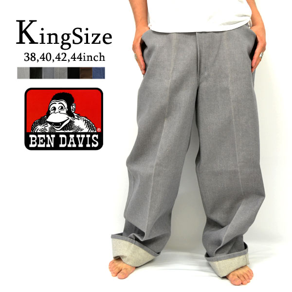 d43b23c3533 BEN DAVIS and Ben Divis PANTS GORILLA. C-Twill  amp  denim material-7  colors! 38 40 42 44 inch straight pants