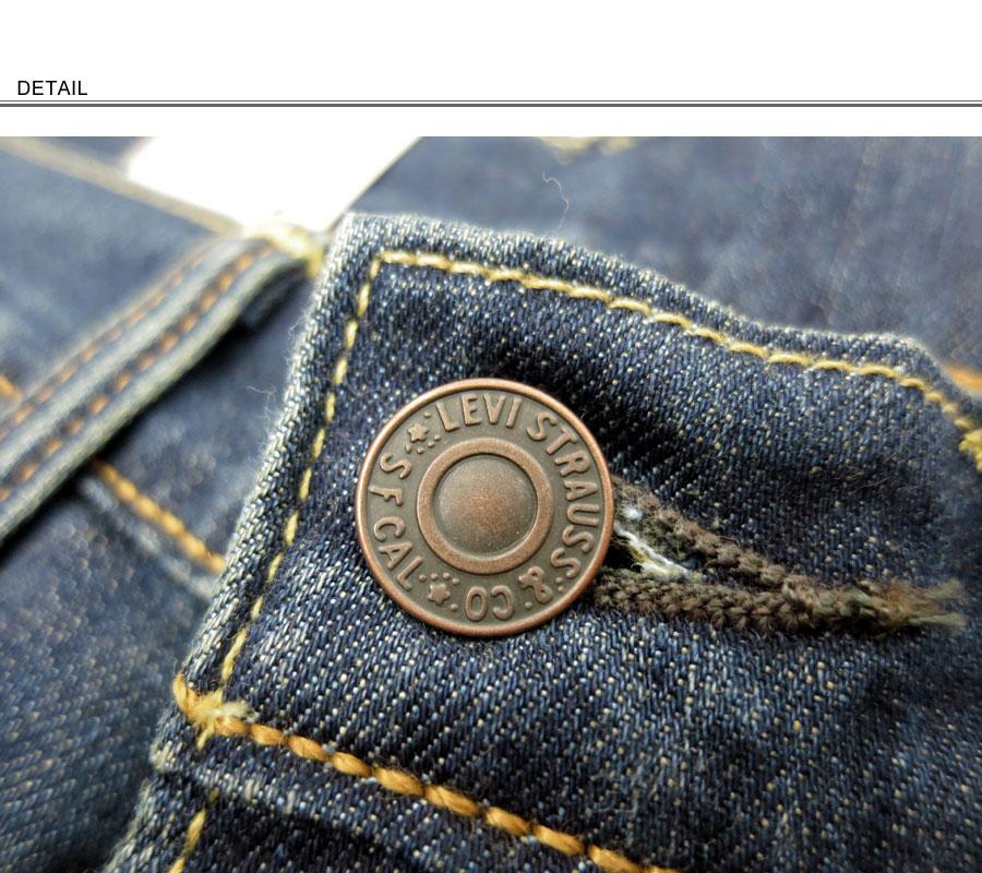 "Levi's李维斯0万零505-1130~灯弹力材料~""Regular Fit""""505""常规笔直粗斜纹布(深色蓝色)"