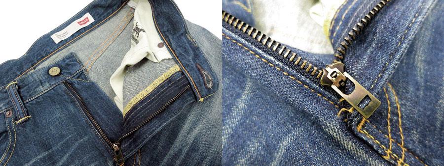 Levi 's 牛仔裤和牛仔 Levi ~ 日本造 502 中期定期锥形适合直粗斜纹棉布牛仔裤 86602-0020