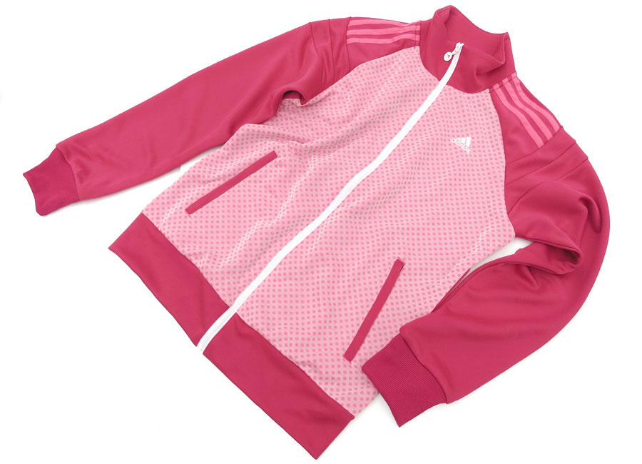 adidas PERFORMANCE  UV protection climalite Warm-up Jacket ( PINK )