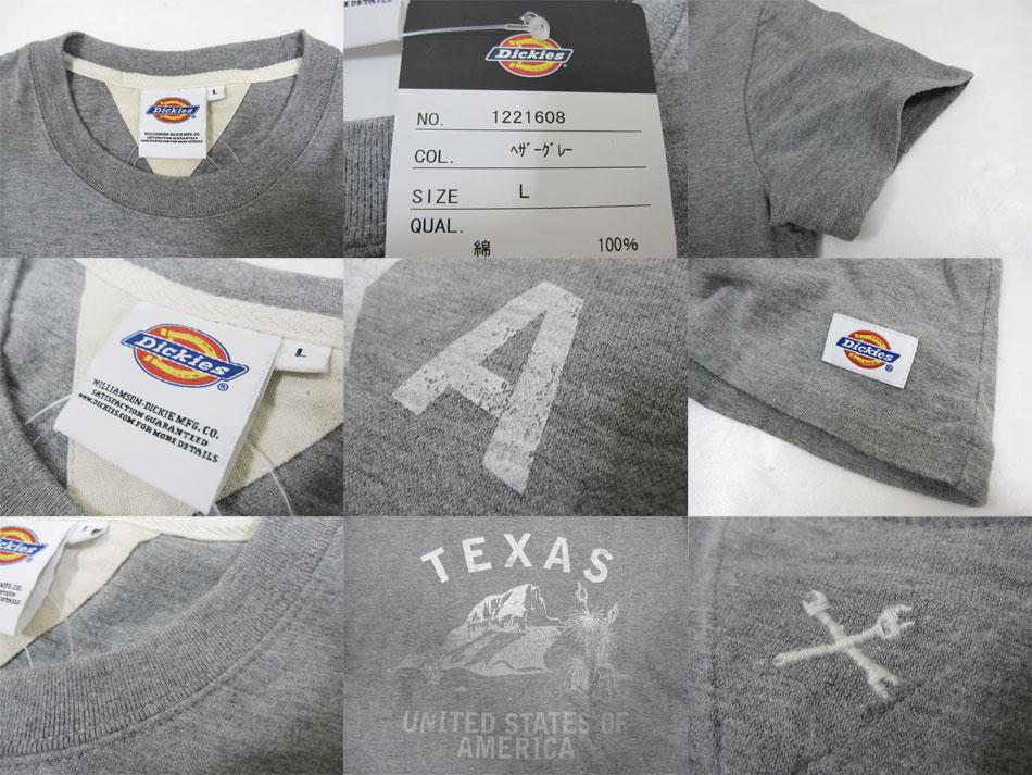 Dickies Dickies~斯拉夫印度材料~TEXAS印刷短袖T恤