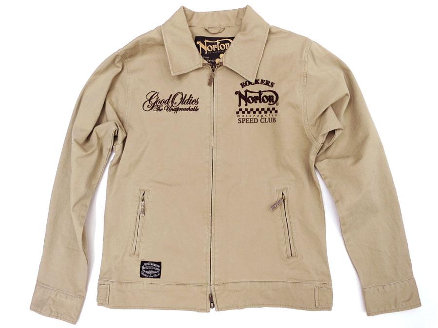 MARUKAWA | Rakuten Global Market Norton Work Jackets Mens Embroidered Drizzle Jacket