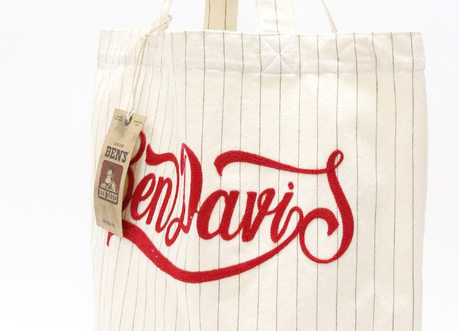 本 · 大衛斯 / Ben Davis 手提包袋男裝 [丸條子鏈刺繡 / 修補 / 婦女 / 大 / 布/A4 / 流行 / 品牌/時尚 / 袋/棉