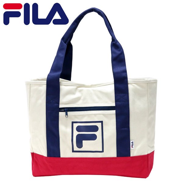 Tote bag FILA Fila Tote canvas campus sports sporty school school popular  men s ladies Street original accommodation FILA Fila Tote 70da58051018b