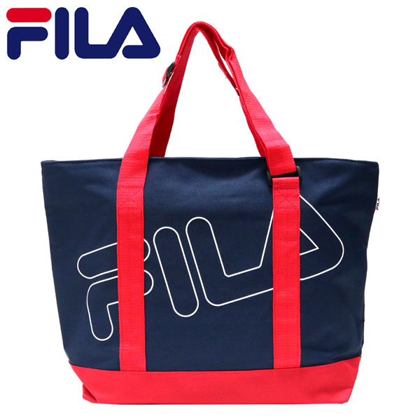 ecc93eba400 Tote bags FILA Fila Tote Club fashion sports sporty school school popular  men s ladies Street Hara-Juku FILA Fila tote bag