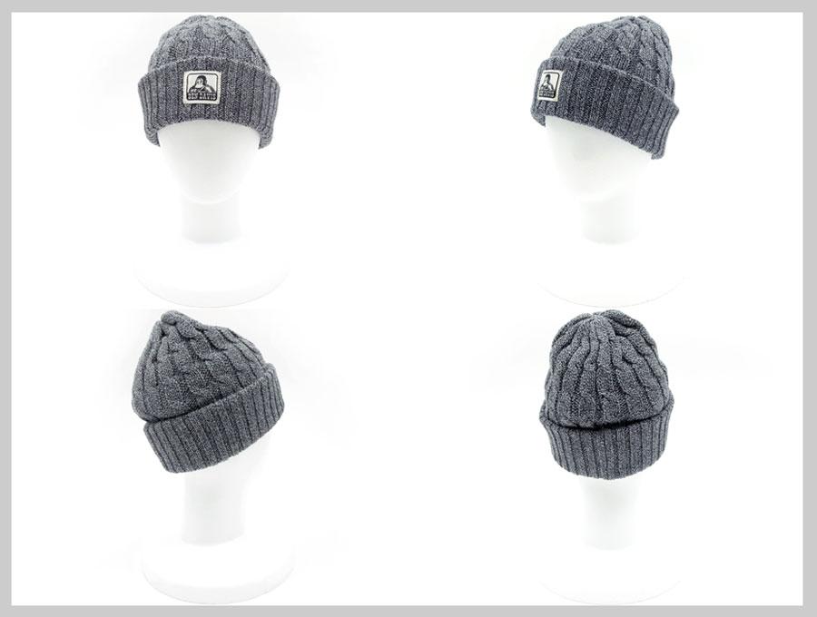 ce0699b4cd3ba Knit Cap Hat knit hat men s knit hat women s knit Cap knit fall winter knit  hat rib label Kamon Beanie Hat simple loose dress casual small face