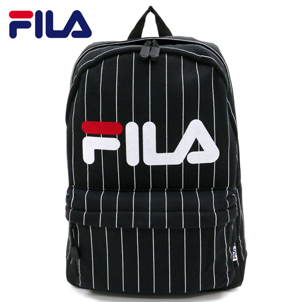FILA Fila men s ladies Luc mass backpack men s daypack backpack ladies  backpack mass Luc school Luc fashionable Luc mens Luc ladies Luc stripe logo 8338f00a6b