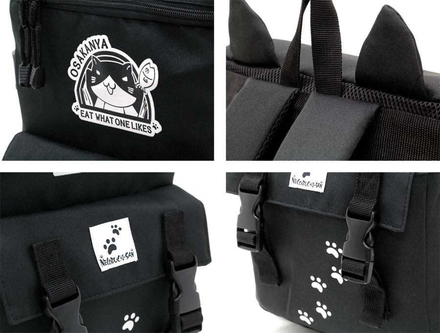 背包男士女士成人男女通用背包背包背包背包男式女式男女皆宜的大众时尚简单的学校学校猫猫耳朵