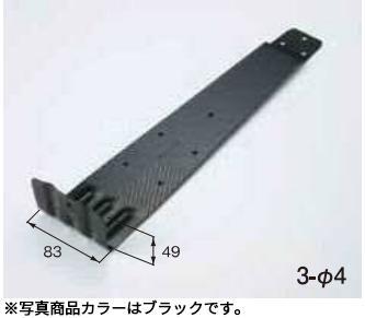 扇型コロニアル 先付 SUS430【100本入り】カラー/ブラック 1400094コロニアル L型・羽根付タイプメーカー直送・代引き不可