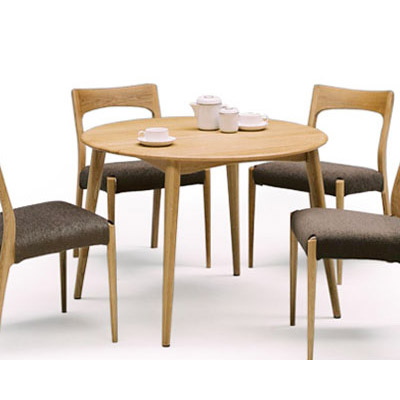 Stool Bench Circular Dining Table