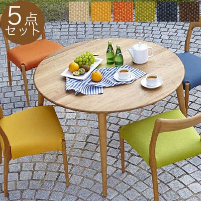Dining Chair · Circular dining 5 piece set ... & marukinkagu | Rakuten Global Market: Clover series round dining ...
