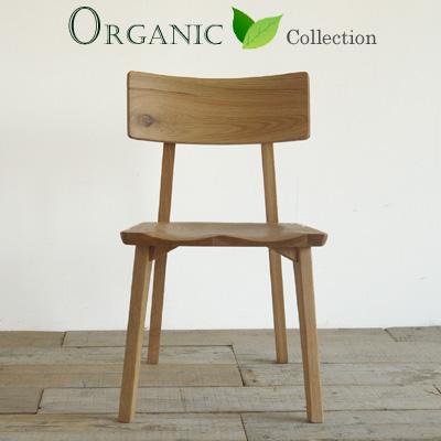 オーガニックRI ダイニングチェア オーク材 板座 木製 無垢材【送料無料】※2脚単位でご注文お願い致します。