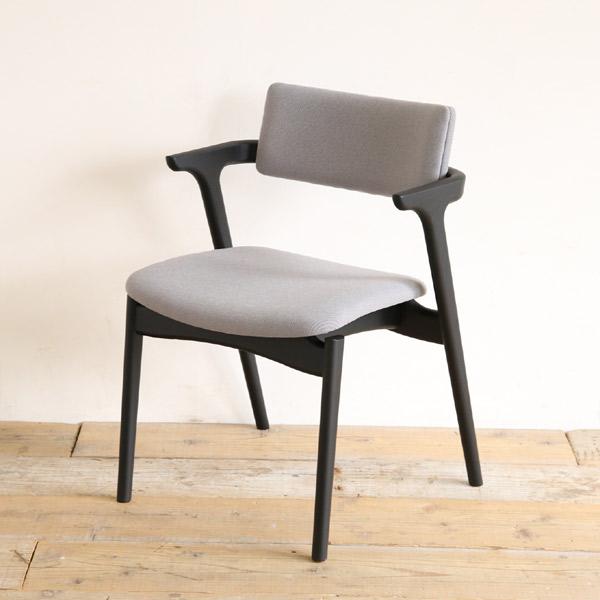Capra(キャプラ)ダイニングチェア ハーフアームチェア 無垢材 椅子 北欧 木製【国産家具】【送料無料】【日本製】【受注生産】※材ににより価格が変わります。ご注文後 当店より正しい金額メールします。