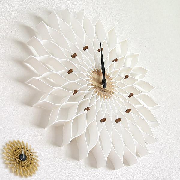 驚きの値段 掛け時計 おしゃれ 北欧 壁掛け時計 宅配便送料無料 かわいい 木製 掛時計 ダリアの花を思わせる大輪の花のようなフォルムが美しい時計 Leffard ルファール ウォールクロック 時計 あす楽 在庫あり デザイン cl-9903-128 大輪の花のようなフォルム 大きい 送料無料 プレゼント