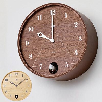 レムノス カッコー時計 パーチェ※サイズによりお値段が異なります。当店より正しい金額をメールします。【L/ブラウン在庫あり】【送料無料】