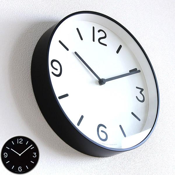 壁掛け時計 掛け時計 掛時計 在庫処分 デザイン時計 雑貨 リビング キッチン 寝室 インテリア 新品 プレゼント シンプル モダン LEMNOS タカタレムノス おしゃれ ホワイト 送料無料 2 レムノス LC10-20-A-103 ブラック WH3月中 2-11 MONOクロック モノトーン 在庫あり分即出荷可能 タイプA