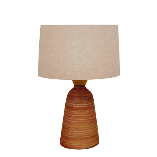 LUXTREE Bamboo Small テーブルランプ テーブルライト デスクライト【送料無料】[ 天然素材 自然素材 流木 照明 ]