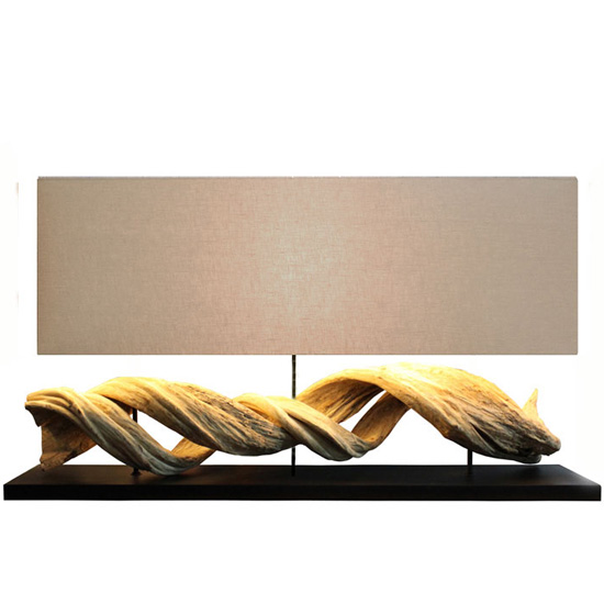 LUXTREE Figuvine テーブルランプ テーブルライト デスクライト【送料無料】[ 天然素材 自然素材 流木 照明 ]【在庫要確認・メーカー在庫限り】