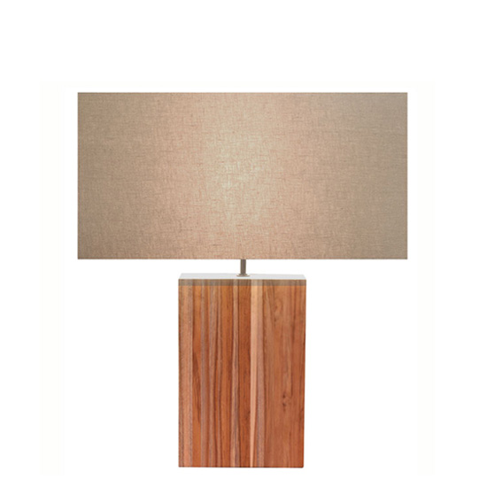 LUXTREE ラージライン チーク テーブルランプ テーブルライト デスクライト【送料無料】[ 天然素材 自然素材 流木 照明 ]