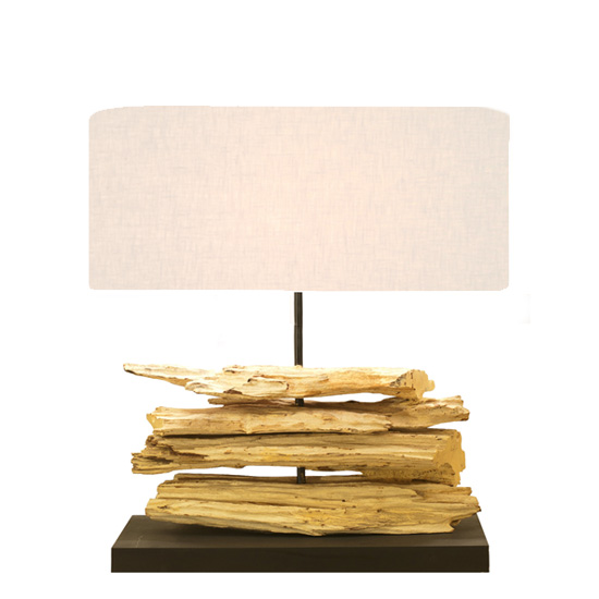 LUXTREE Riverine Lamp テーブルランプ テーブルライト デスクライト【送料無料】[ 天然素材 自然素材 流木 照明 ]