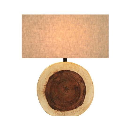 LUXTREE Small circular テーブルランプ テーブルライト デスクライト【送料無料】[ 天然素材 自然素材 流木 照明 ]