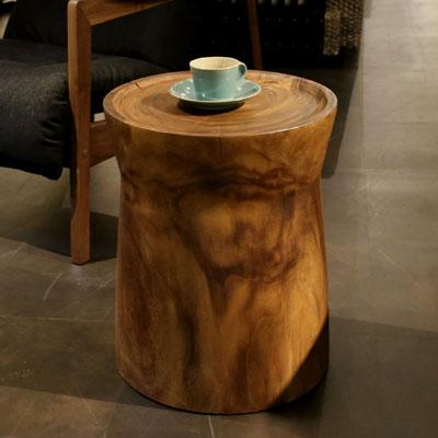 Senso Vita(センソ) サイドテーブル EM[ 無垢 アイアン 木製 無垢材 アジアン家具 アジアン リゾート ]【送料無料】【数量限定】【在庫あり】