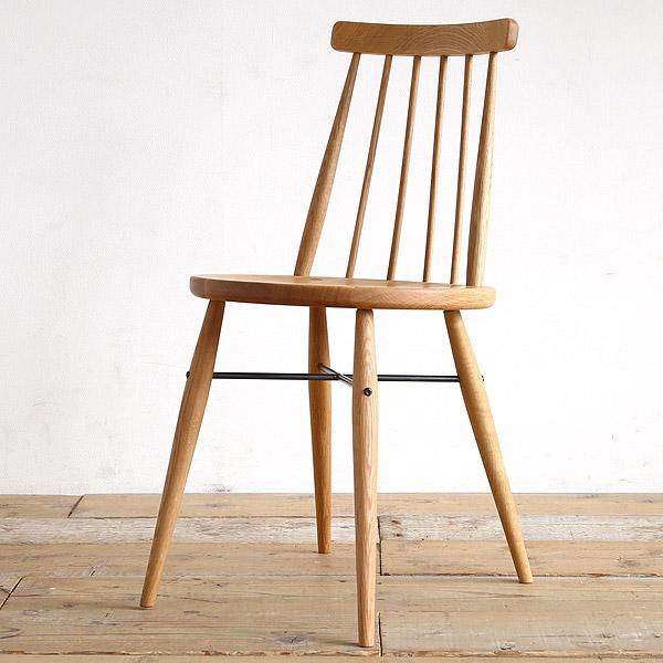 ピケ ダイニングチェア 板座 木製 無垢 [ オーク材 ウィンザーチェア 北欧 椅子 イス モダン いす チェアー ]【日本製】【デザイナー家具】