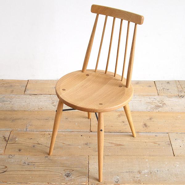 ピケ ダイニングチェア 無垢 板座 木製 [ オーク材 ウォールナット材 ウィンザーチェア 北欧 椅子 イス モダン いす チェアー ]【送料無料】【日本製】【デザイナー家具】