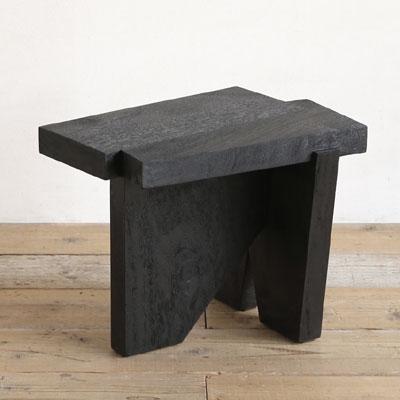 SENSO d VITA(センソ) サイドテーブル MESA(メサ) ブラック [ 無垢 木製 無垢材 アジアン家具 アジアン リゾート ]【送料無料】【数量限定】【在庫あり】