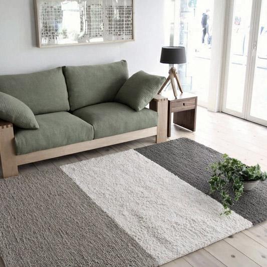 ボーダーラグ 160×230 絨毯 2畳 ラグマット じゅうたん ラグ カーペット 【送料無料】【在庫限り】【在庫あり】