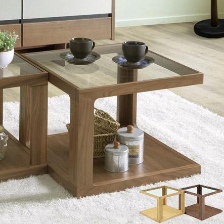 タブ ガラスローテーブル センターテーブル サイドテーブル [ サイドテーブル 無垢 木製 ガラステーブル 【送料無料】※1個の価格です。※材によりお値段が異なります。