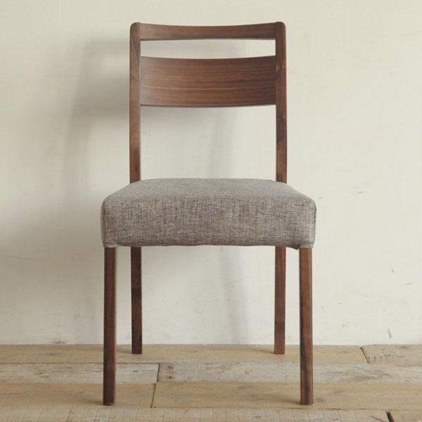 ミーツ ダイニングチェア ウォールナット 無垢材 無垢 椅子 いす イス 木製 【送料無料】
