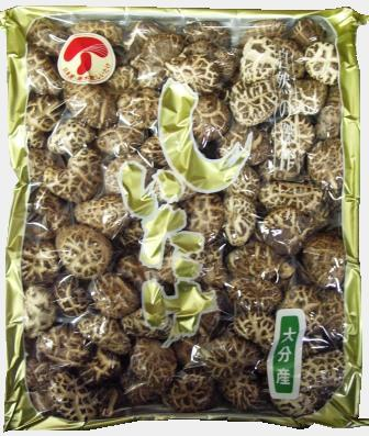 大分産 花どんこ 500g(一寸 3.3cm)