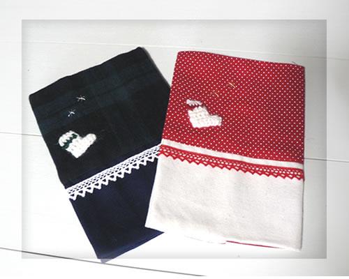 ハーベストプロダクツから手作りグッズ X'mas 公式通販 DE Socks アイテム勢ぞろい ブックカバー