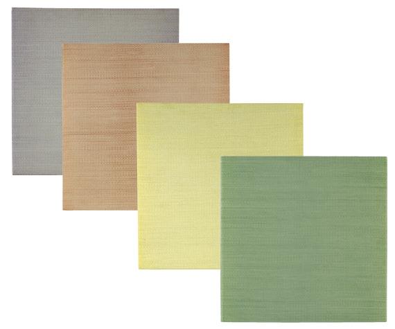 高級ユニット 畳琉球 畳(カラーシンプル)約 88×88 cm【4枚セット】【厚み約 27 mm!】ヘリなしタイプ[44_3_88_88]