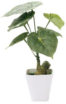 斑入ベンジャミンダブル 光の楽園 光触媒観葉植物 高さ1.2m 【インテリアグリーン 光触媒 人工観葉植物】