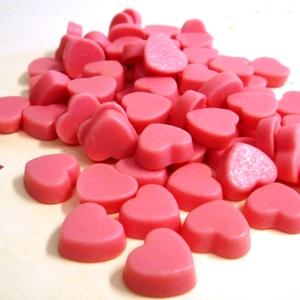チョコレート>ミニミニハートチョコいちご