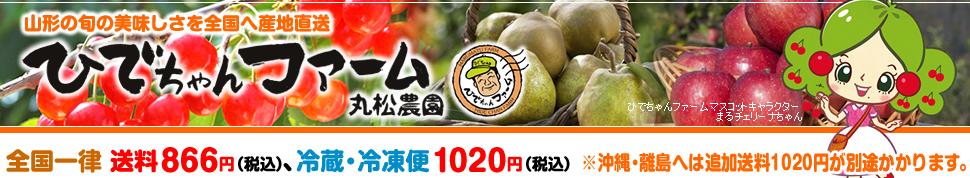 ひでちゃんファーム丸松農園:さくらんぼをはじめ、名産ラ・フランスなど山形の新鮮な果物をお届けします