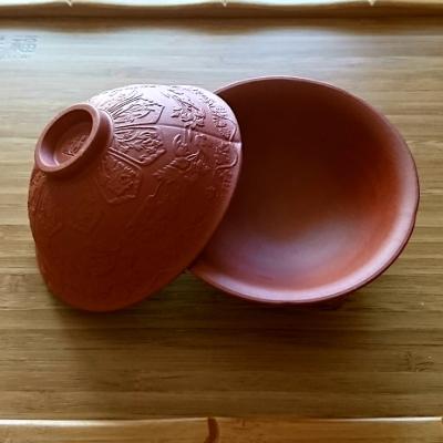 貴重な茶杯 紫砂で作られた茶杯 繊細な模様は全て職人さんが手彫りをしています 中国茶器 紫砂壺の紫砂で作られた茶杯 茶杯2個セット 開催中 1着でも送料無料 茶道具 茶雑貨中国茶器専門店マルメロ送料無料 茶器
