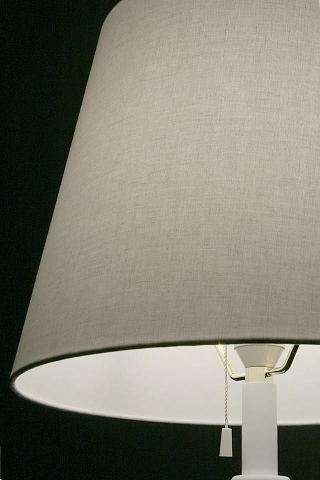 フロアスタンド交換用ランプシェード アーム式 直径35cm スノウホワイト  照明 シェードのみ