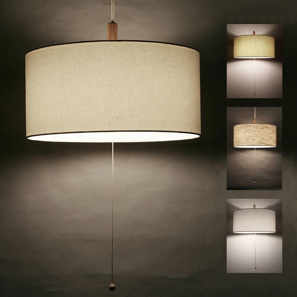 3灯ファブリックペンダントライト直径40cm電球別売type-Z全4色送料無料LED電球対応