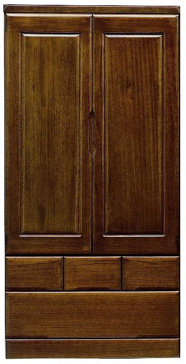 桐子 30洋服 ワードローブ ロータイプ洋服タンス 90cm幅 日本製 桐 ブレザータンス 和風たんす 収納家具 関東圏送料無料 木製 洋服収納 和室箪笥ドロアー