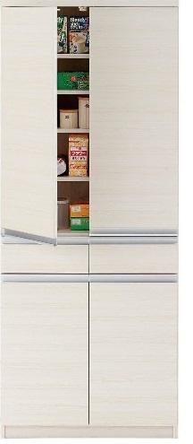 フナモコ 完成品   キッチンボード ダイニングボード レンジボード 食器戸棚 EKS-73T 開梱設置・送料無料(関東圏)