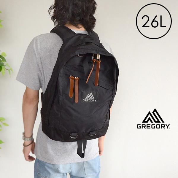 【メール便不可】グレゴリー 65169-MG CLASSIC DAYPACK[26L] レディース メンズ 鞄 カバン リュック デイパック シンプル ブラック GREGORY 7008468