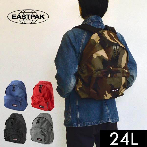 【メール便不可】イーストパック EK620-MG PADDED PAKR 24L キッズ ジュニア レディース メンズ リュック バックパック デイパック アウトドア カジュアル パデッドパッカー EAST PACK 7008570