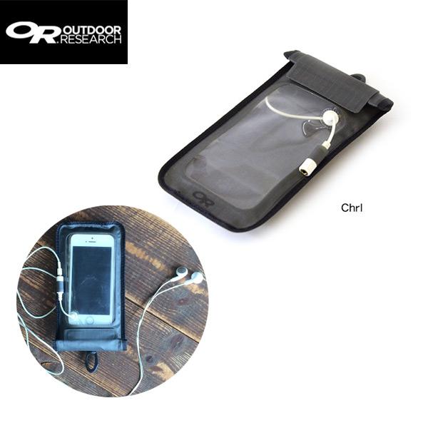 c01c5ff579 スマートフォン用防水ケース OUTDOOR RESEARCHI OR センサードライポケット スタンダード[Chrl]□4548732675494