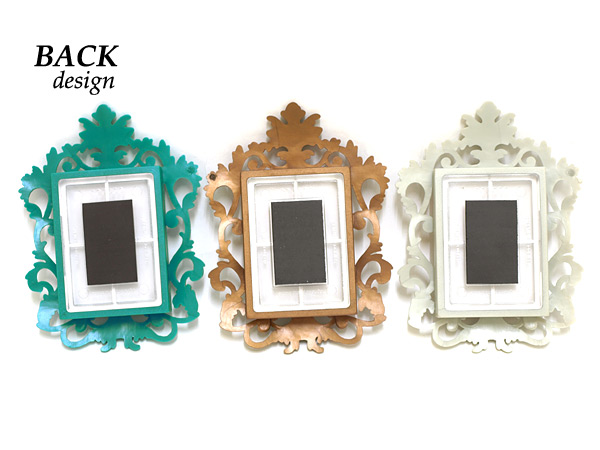 Green & Associates rococo magnet photo frame / ロココマグネット photo frame ■ 4403 ■ 73097 _