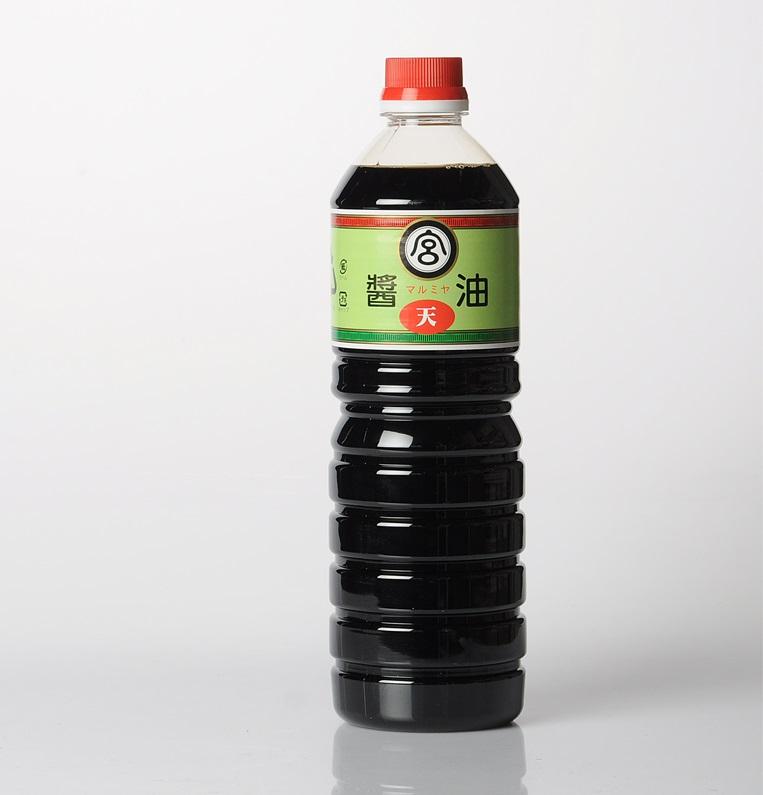 九州 宮崎 しょうゆ マルミヤ醤油本店 醤油  天印 1.0L 当社代表する風味を持ち 一番売れ筋 九州宮崎 しょう油