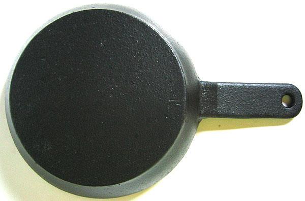 [鉄鋳物]IHにも対応! 鉄製フライパン 15cm
